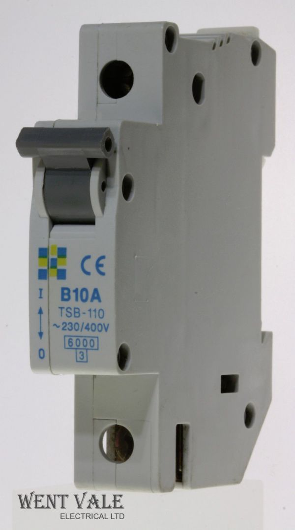 Clipsal TSB-110 - 10a Type B Single Pole MCB Unused